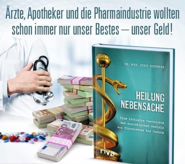 Ärzte, Apotheker und die Pharmaindustrie wollten schon immer nur unser Bestes – unser Geld…!!!