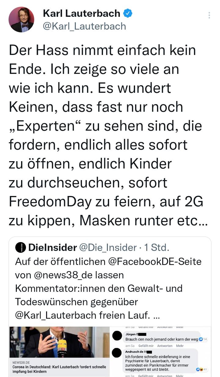 """""""Impfen"""" TÖTET MENSCHEN (PS: Es ist KEIN IMPFSTOFF, sondern ein den Genstrang veränderndes Gift namens Graphenoxid!)…wir zeigen dich jetzt in Den Haag an!"""